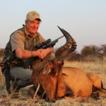 Dad Red Hartebeest