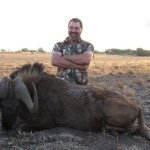 Black Wildebeest Barry smile 20121006