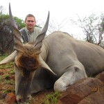 Eland Ted trophy close-up 20111127