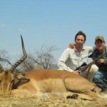 Impala trophy Ricus and hunter  20120913