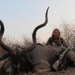 Kudu Barry wife trophy 20111008