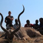 Kudu horns Ricus and team 20121006