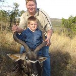 Kudu trophy Father and son 20091021