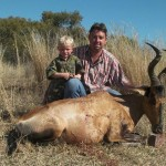Red Hartebeest Farther and son 20090822